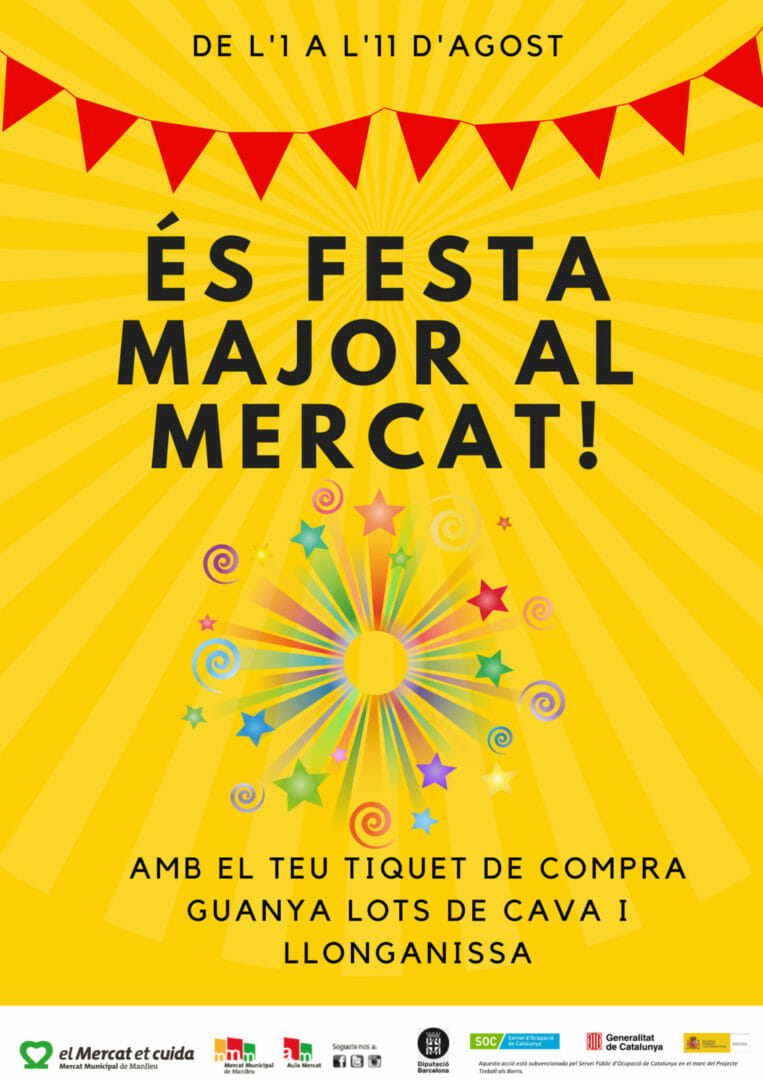 Campanya Festa Major 2018