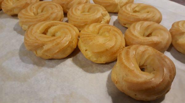 rosquilles pasta choux