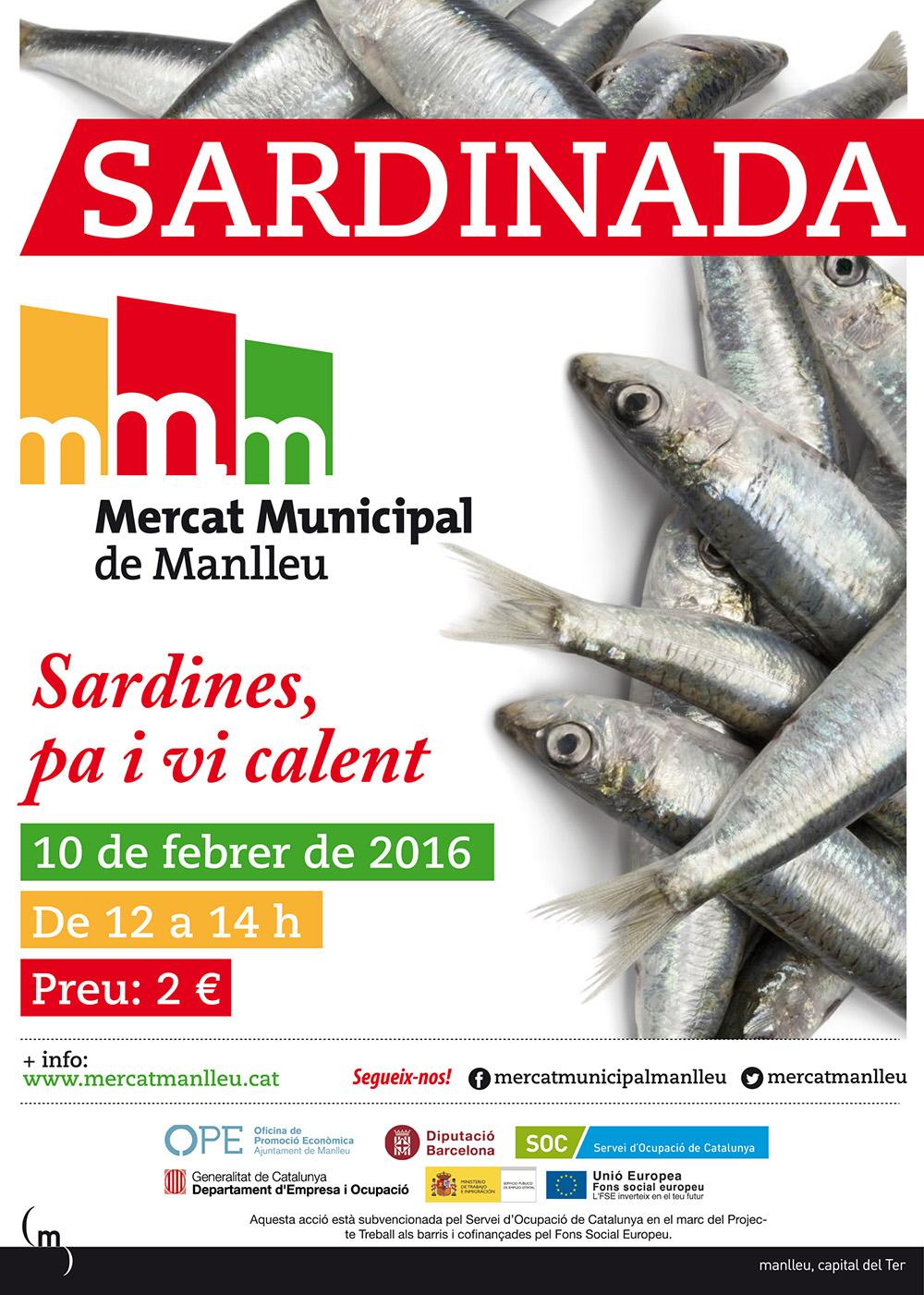 Sardinada Mercat Manlleu