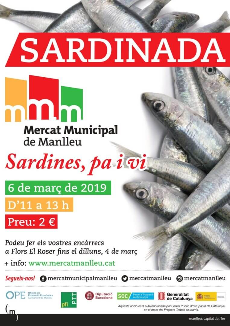 sardinada mercat