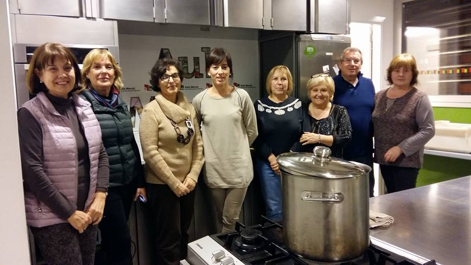 Taller Let's Cook a l'aula